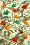 Real estate market. Key to the real estate market stock image