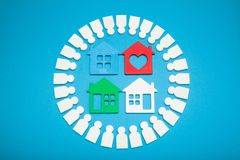 Real estate market, home assessment.  royalty free stock photo