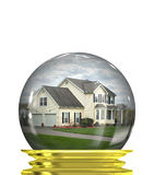 Real Estate Market Predictions Stock Photo