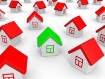 Real estate market. stock illustration