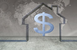 Real estate market Royalty Free Stock Photos