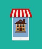 Real estate marketing online Stock Photos