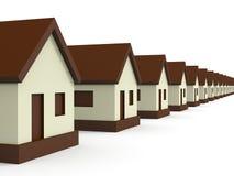 Real Estate marknadsför Arkivfoton