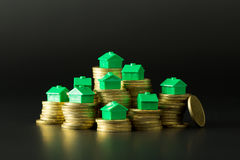 Real Estate marknadsför royaltyfria bilder