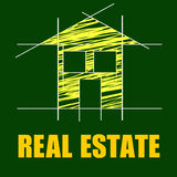 Real Estate Means On The Market And Apartment Royalty Free Stock Images