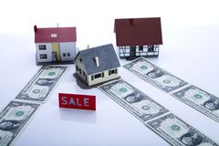 Real estate & Money Royalty Free Stock Photography