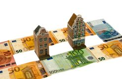 Real estate and money Royalty Free Stock Photography