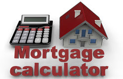 Real estate mortgage concept Stock Photo