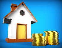 Real Estate Mortgage Represents On The Market And Advance Stock Images