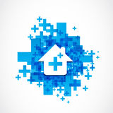 Real estate network marketing Stock Photography