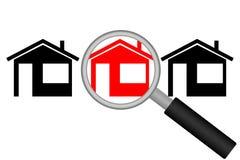 Real Estate-Onderzoek Royalty-vrije Stock Afbeeldingen