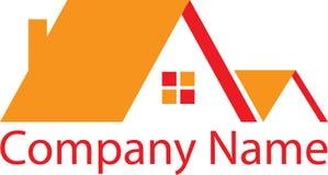Real Estate orange Logo House Photo libre de droits