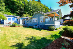 Real Estate in  Port Orchard town, WA Royalty Free Stock Image