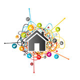 Real estate prediction Royalty Free Stock Photography