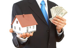 Real Estate Presentation Stock Photo