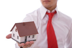 Real estate presentation Royalty Free Stock Photo