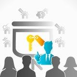 Real Estate Presentation Stock Photo