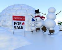 Real Estate - prezzo riduttore Immagine Stock