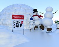 Real Estate - Price Reduced Stock Image