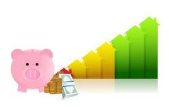 Real estate profits Stock Photos