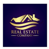 Real Estate Property Company Logo. Real Estate  logo design template. House abstract concept icon Royalty Free Stock Images