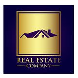 Real Estate Property Company Logo. Real Estate vector logo design template. House abstract concept icon Stock Images