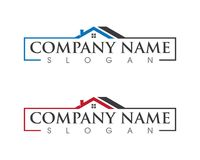 Property and Construction Logo design. Real Estate , Property and Construction Logo design Royalty Free Stock Photos