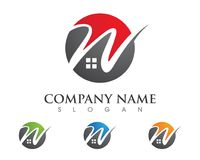 Property and Construction Logo design. Real Estate , Property and Construction Logo design Stock Photography