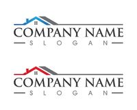 Property and Construction Logo design. Real Estate , Property and Construction Logo design Royalty Free Stock Photo
