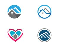 Property and Construction Logo. Real Estate , Property and Construction Logo design Stock Photography