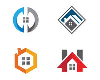 Real Estate , Property and Construction Logo design. For business corporate sign Royalty Free Stock Image