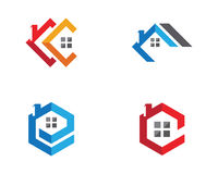 Real Estate , Property and Construction Logo design Royalty Free Stock Photography