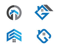Real Estate , Property and Construction Logo design Royalty Free Stock Photos