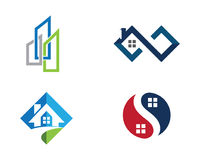 Real Estate , Property and Construction Logo design Stock Images