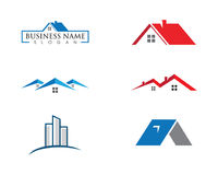 Real Estate , Property and Construction Logo design Royalty Free Stock Images