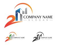 Property Logo Template Royalty Free Stock Photo