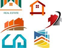 Real estate property illustration Stock Photography