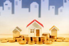 Real estate or property investment concept royalty free stock image