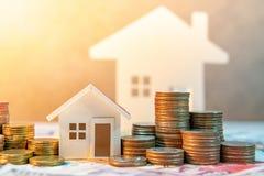 Real estate investment. Saving money concept Stock Photos