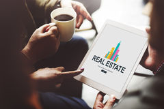 Real Estate Property working concept stock image