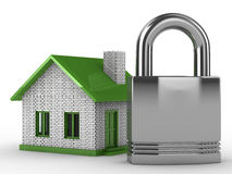 Real estate protection Stock Images