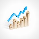 Real Estate przyrost ilustracji