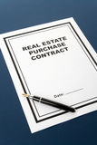 Real Estate Purchase Contract Royalty Free Stock Image