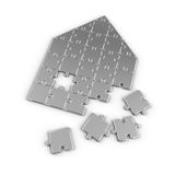 Real Estate Puzzle vector illustration