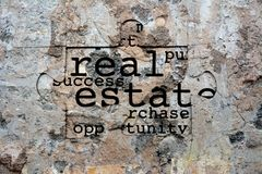 Real estate puzzle Stock Photography