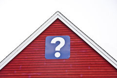 Real Estate Questions Royalty Free Stock Photos