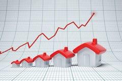 Real estate are raising Stock Photos