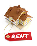 Real Estate For Rent Royalty Free Stock Photography