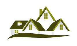 Real Estate Roof Vector. Real Estate Roof Logo Design Template Vector vector illustration
