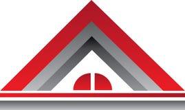 Real Estate rouge Logo House Photo libre de droits